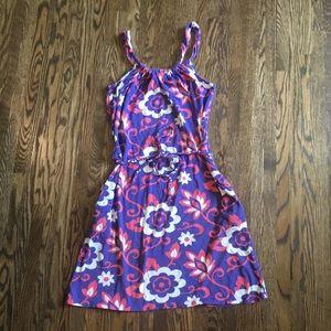 Boden floral modal cotton dress